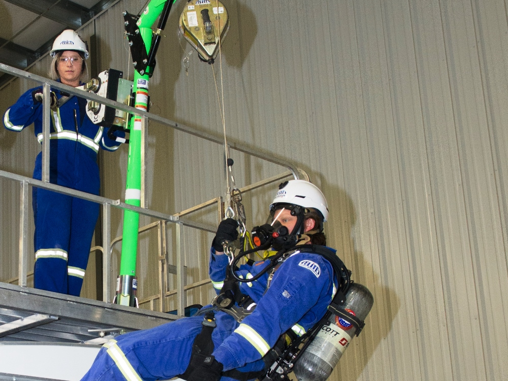 Safety Training-FALL PROTECTION RESCUE